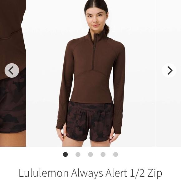 Lululemon Always Alert 1/2 Zip- 2
